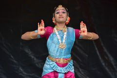 Bloomington, Illinois - USA - Jun 24,2018 - Ratha Yatra Festival Cultural Performance stockbild