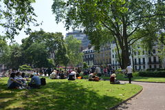 Bloomsbury square Royalty Free Stock Photo