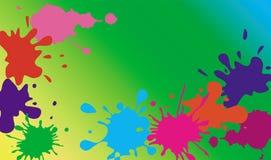 blooping Mång--färgade fläckar Royaltyfri Foto