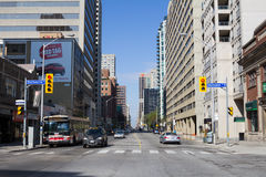 Bloor Street East Royalty Free Stock Image