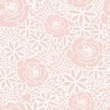 Bloos het Bloemen Naadloze Patroon van de Lentetea party vector illustratie