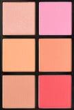 Bloos Make-up royalty-vrije stock afbeeldingen