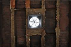 Blootgestelde concrete textuurpatronen Stock Fotografie