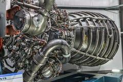 Blootgestelde de motor van de raket Royalty-vrije Stock Fotografie