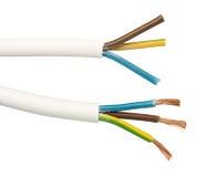 Blootgestelde kabels en draden Royalty-vrije Stock Foto
