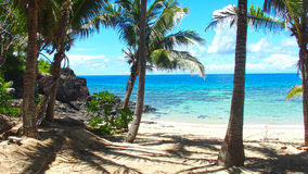 Blootvoets Eiland, Fiji Royalty-vrije Stock Foto