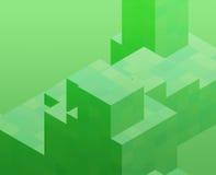 bloque cubique Images libres de droits
