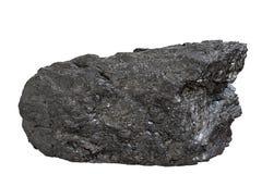 Bloque de antracita del carbón Imágenes de archivo libres de regalías