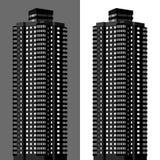 Bloque de apartamentos ilustración del vector