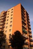 Bloque de apartamentos Fotografía de archivo libre de regalías