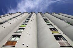 Bloque de apartamentos moderno fotografía de archivo libre de regalías