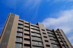 Bloque de apartamentos moderno Fotografía de archivo