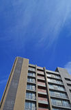 Bloque de apartamentos moderno Imagen de archivo libre de regalías