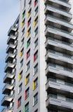 Bloque de apartamentos moderno foto de archivo