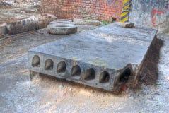 Bloque de cemento Imagen de archivo