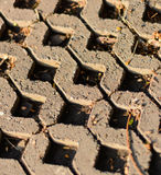 Bloque de cemento foto de archivo libre de regalías