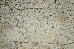 Bloque de cemento agrietado Foto de archivo libre de regalías