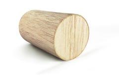Bloque de cilindro de madera Foto de archivo