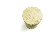 Bloque de cilindro de madera Fotografía de archivo libre de regalías