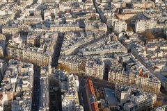 Bloque de ciudad de París Imagen de archivo libre de regalías
