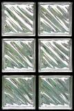 Bloque de cristal Fotos de archivo libres de regalías