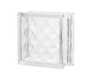 bloque de cristal Fotografía de archivo libre de regalías