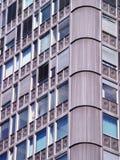 Bloque de detalle de las viviendas Fotografía de archivo libre de regalías