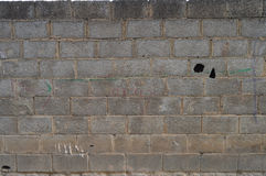 Bloque de la pared Fotos de archivo libres de regalías