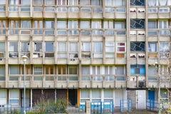 Bloque de la vivienda del plano de consejo en Londres del este Fotografía de archivo libre de regalías