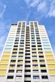 Bloque de la vivienda de protección oficial HDB de Singapur Fotos de archivo libres de regalías
