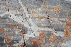 Bloque de mármol antiguo resistido agrietado Fondo de piedra Textured imágenes de archivo libres de regalías