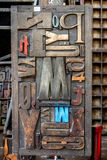 Bloque de madera Imágenes de archivo libres de regalías