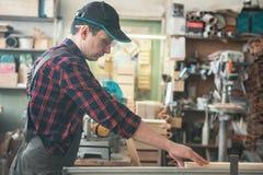 Bloque de madera previsto carpintero imagen de archivo libre de regalías