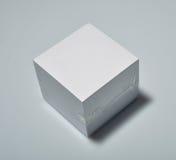 Bloque de papel de nota Foto de archivo libre de regalías