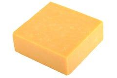 Bloque de queso cheddar Imágenes de archivo libres de regalías