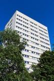 Bloque de torre del centro de ciudad de apartamentos, Birmingham imagenes de archivo