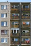 Bloque de viviendas Imagen de archivo libre de regalías