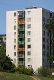 Bloque de viviendas Fotos de archivo