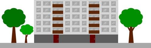 Bloque de viviendas Imágenes de archivo libres de regalías