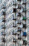 Bloque de viviendas Fotografía de archivo libre de regalías