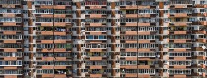Bloque de viviendas comunista imagenes de archivo