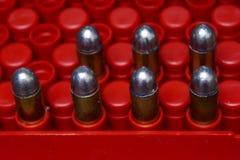Bloque del cargamento de la caja de la bala Foto de archivo libre de regalías