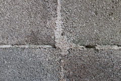 Bloque del cemento Fotos de archivo libres de regalías