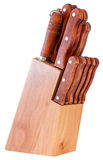 Bloque del cuchillo Foto de archivo libre de regalías