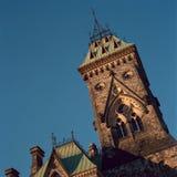 Bloque del este, colina del parlamento, Ottawa Imagen de archivo libre de regalías