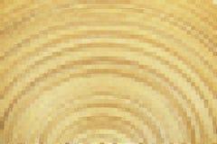 Bloque del mosaico amarillo Fotos de archivo