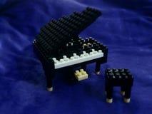 Bloque del piano Imagen de archivo