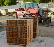 Bloque des briques Photo stock