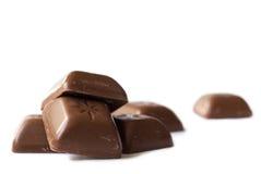 bloque le chocolat Photos stock