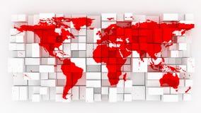 Bloque le monde Photos stock